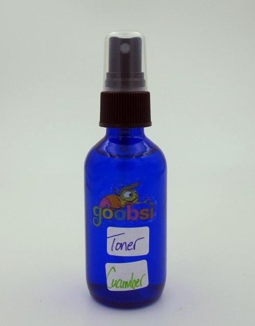 goobsi - Organic Toner - 2oz - Organic Cucumber